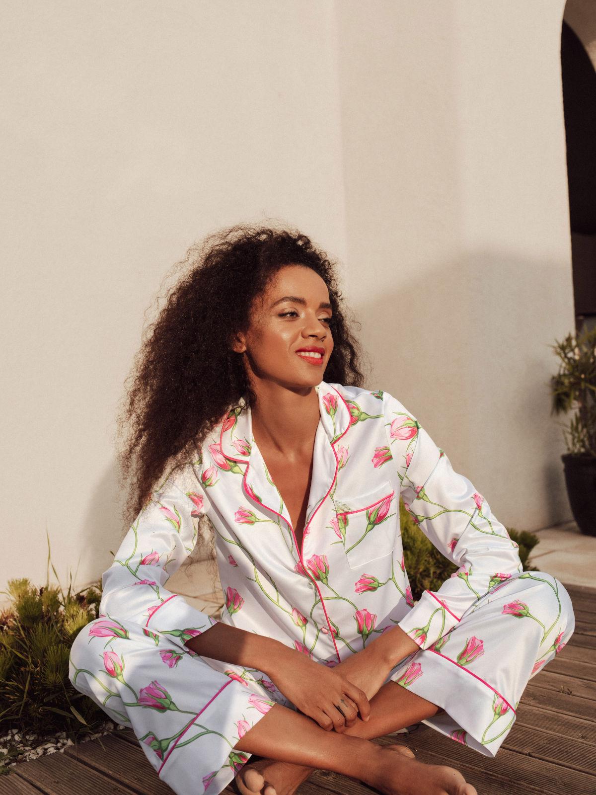 pijamale de dama din satin